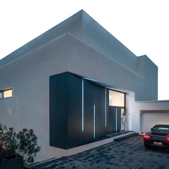 Modern Residence, Villa, Eingangsgestaltung, Architekt Wien