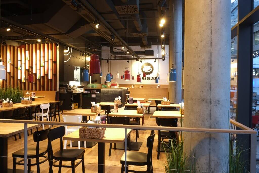 modern restaurant, shabby chic