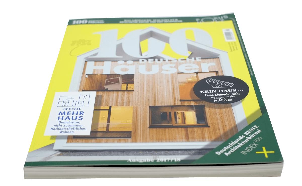 100 Deutsche Häuser, Haus D, Einfamilienhaus in Dresden