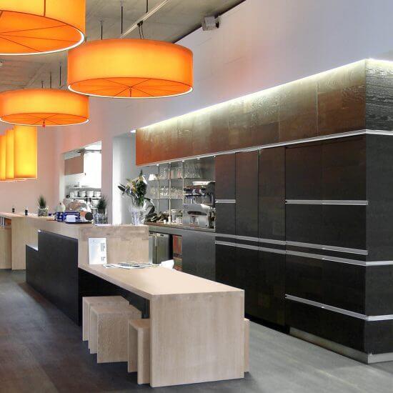 Innenarchitektur Wien, modern restaurant interior