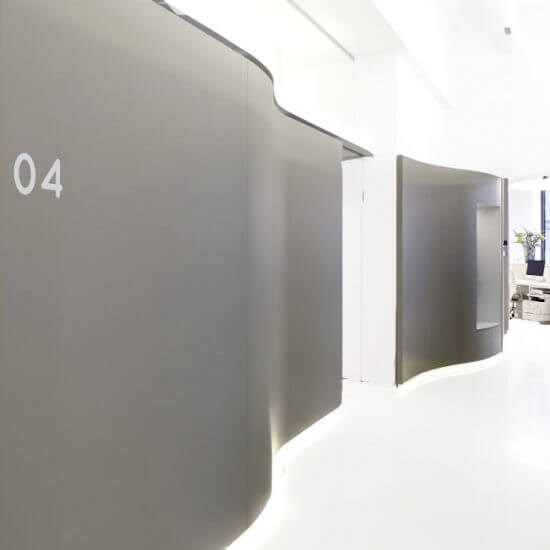 Ordinationsplanung, Krankenhäuser & Arztpraxen Einrichtung: Zahnarztpraxis by Doellmann Design