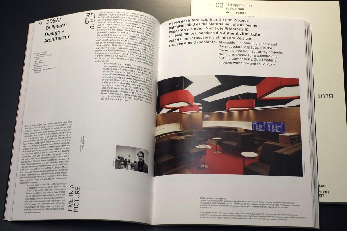 HERZ BLUT – 150 Positionen zur Architektur in und um Österreich Beitrag von Döllmann Design