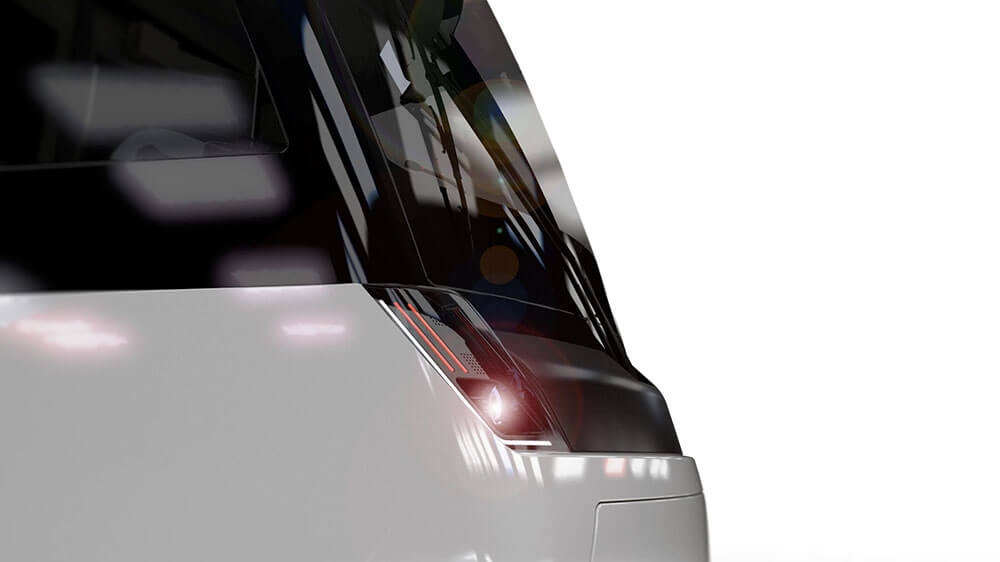 Designstudy Tram Bernmobil, Stadler Tramlink Bern, Bernmobil, Strassenbahn