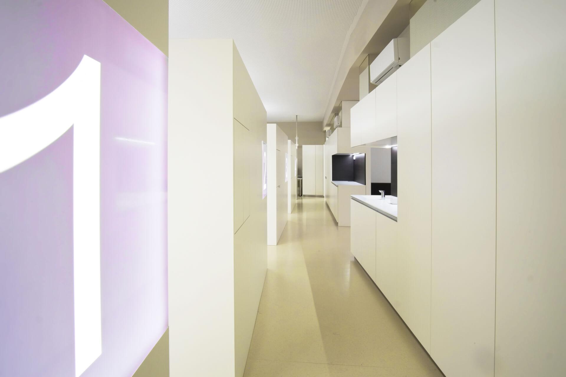Kieferorthopädische Klinik, Praxiseinrichtung, modern Dentist