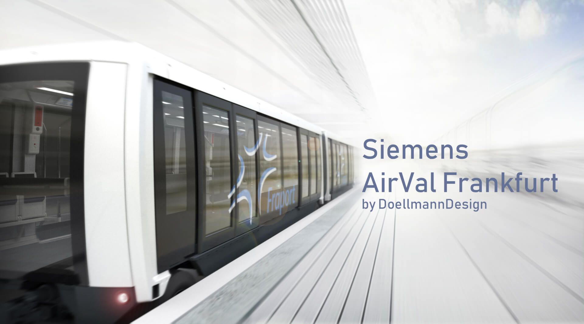 Siemens AirVal, Automated People Mover, Exterior, Airport Shuttle,