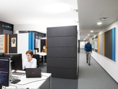 Bürogestaltung, modernes Büro, Zühlke, Peter Döllmann, Architektur, Design, Büroraum