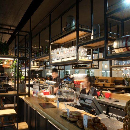 Brauhaus am Fraport, Restaurant Refit, Modernes Brauhaus