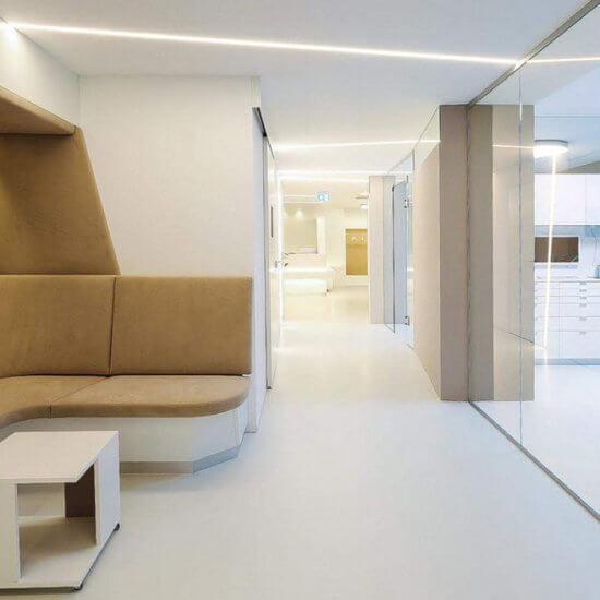 Zahnarztpraxis Dr.Gwardjak, moderne Zahnarztpraxis, Ordinations- und Praxisplanung